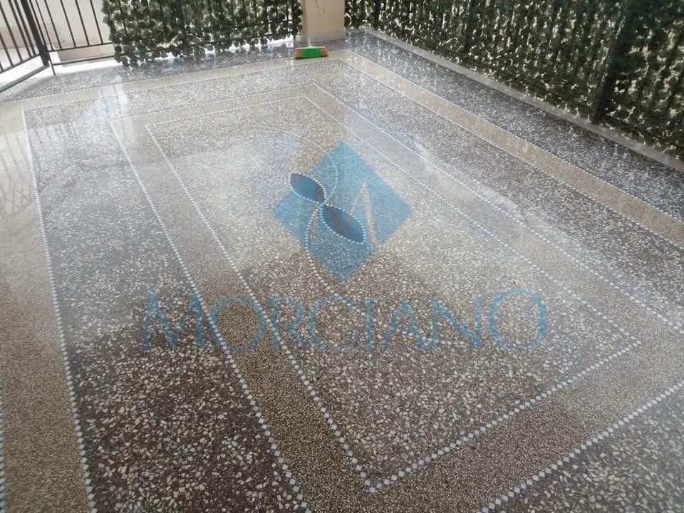 Levigatura pavimento a mosaico - Lecce