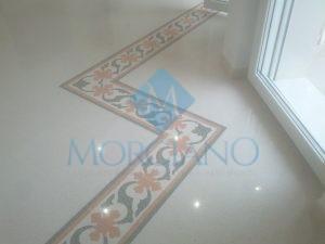 ripristino del pavimento in graniglia di marmo Brindisi