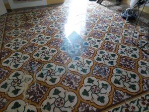 Trattamento pavimento cementine Lecce