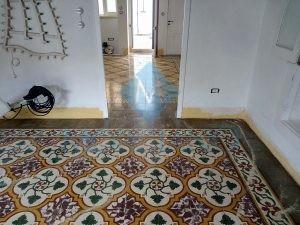 Trattamento pavimento cementine Brindisi