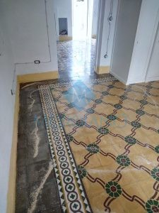 Trattamento pavimento in pastina di cemento Brindisi