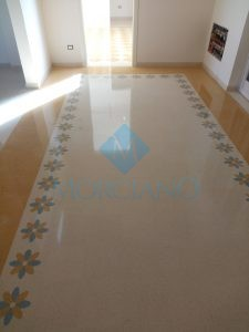 Lucidatura pavimento in graniglia Brindisi