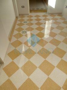Levigatura e lucidatura pavimento in graniglia Lecce