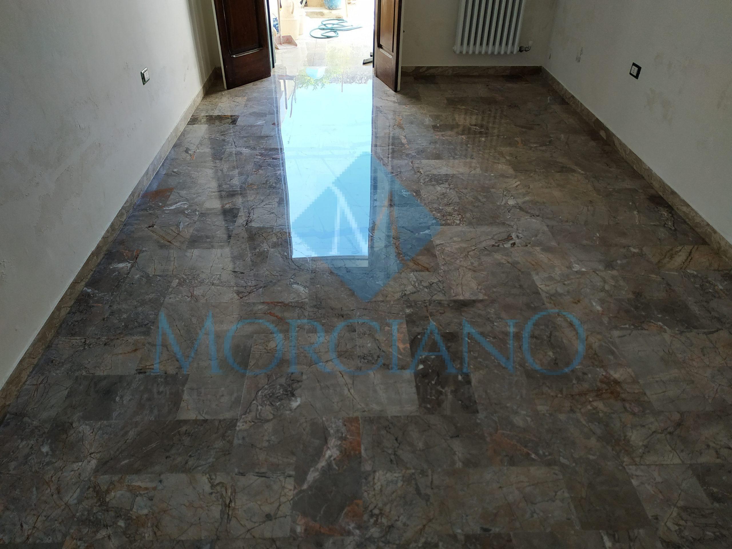 Lucidare I Pavimenti In Marmo levigatura e lucidatura pavimento in marmo – morciano